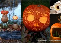 Greet Halloween Fun Creative Diy Pumpkin Decorations
