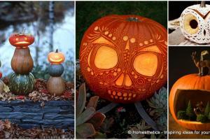Greet Halloween Fun Creative Diy Pumpkin Decorations