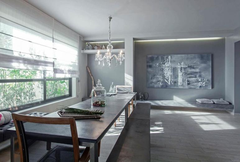 Grey Loft Athens Studio Lila Architect Designer