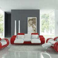 Grey Red Living Room Dgmagnets