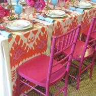 Gypsy Purple Entertaining Event Find Bohemian Table