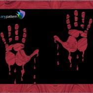 Halloween Bloody Hands Pdf Sonya Fetch