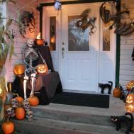 Halloween Front Porch Ideas Nana Workshop