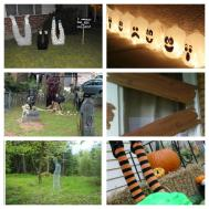 Halloween Roundup Diy Yard Decorations Littlewillowtree