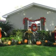 Halloween Yard Decoration Ideas Diy Kitchentoday