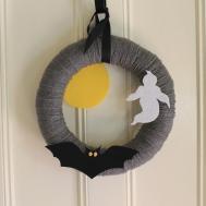 Halloween Yarn Wreath Tina Flickr