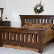 Hand Crafted Timberwood Barnwood Bed Frame Viking Log