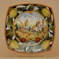 Hand Painted Ceramic Plates Dinnerware Sets Pl210d 30q