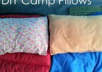 Handmade Home Diy Camp Pillows Envelope Enclosure