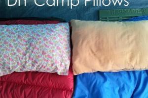 Handmade Home Diy Camp Pillows Envelope Enclosure