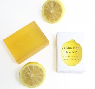 Handmade Lemon Soap Lush