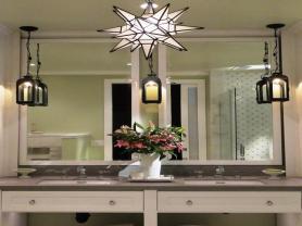 Hanging Bathroom Light Diy Lighting Ideas