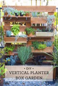 Happy Mundane Jonathan Diy Vertical Box Planter Garden