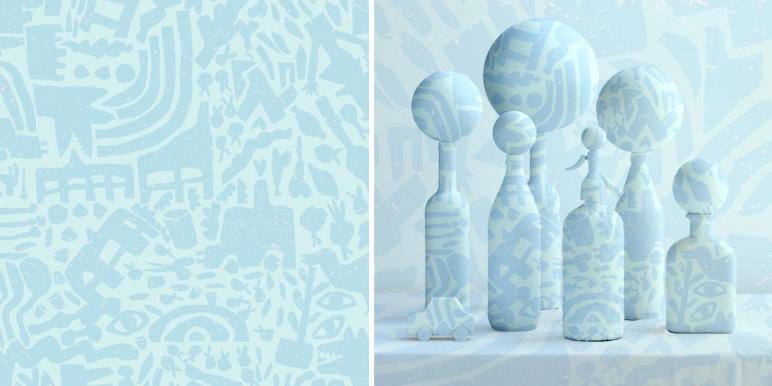 Hello Pattern Por Judy Kaufmann Depto51 Blog