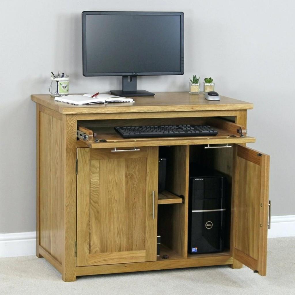 Hidden Computer Desk Hostgarcia - Decoratorist - #45