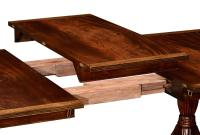High End Dining Rooms Extending Mahogany Large Table