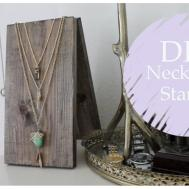 Hinged Necklace Stand Diy Part