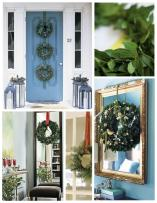 Holiday Embellishment Green Adornment