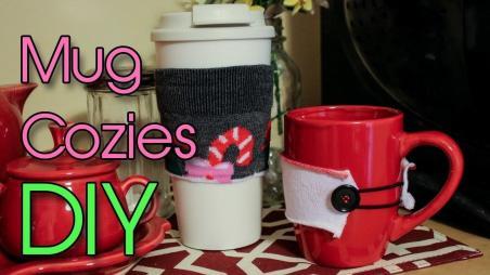 Holiday Mug Cozies Diy Dollar Tree Socks Creation