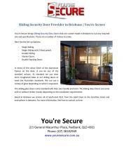 Home Assist Secure Brisbane Eagle