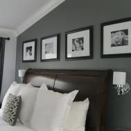 Home Decor Design Charcoal Gray Master Suite