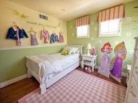 Home Design Enchanting Little Girls Bedroom Ideass