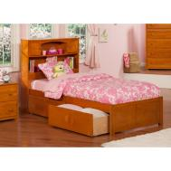Home Office Twin Beds Storage Drawers Underneath