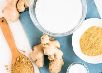 Homemade Beauty Products Ginger Detox Bath Body Scrub