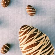 Homemade Chocolate Easter Eggs Sustainably Simple
