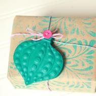 Homemade Christmas Gift Wrap Ideas