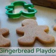 Homemade Gingerbread Playdough Recipe Natural Family Today