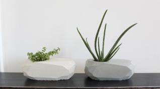 Homemade Modern Ep121 Geometric Concrete Planters