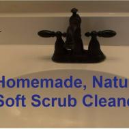 Homemade Natural Cleaner All Soft Scrub