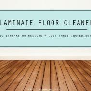 Homemade Wood Laminate Floor Cleaner Carpet