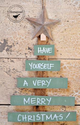 Homeroad Chalkboard Christmas Tree