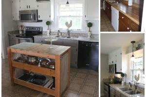 Hometalk Diy Farmhouse Kitchen Makeover 5000