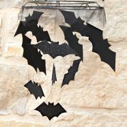 Hometalk Pbk Inspired Halloween Bat Chandelier