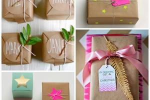 Honey Fizz Christmas Gift Wrapping Ideas