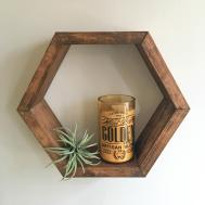 Honeycomb Shelf Hexagon Crystal Shadow