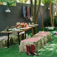 Host Backyard Barbecue Wedding Shower