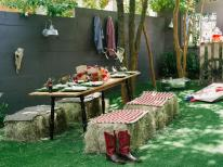 Host Backyard Barbecue Wedding Shower