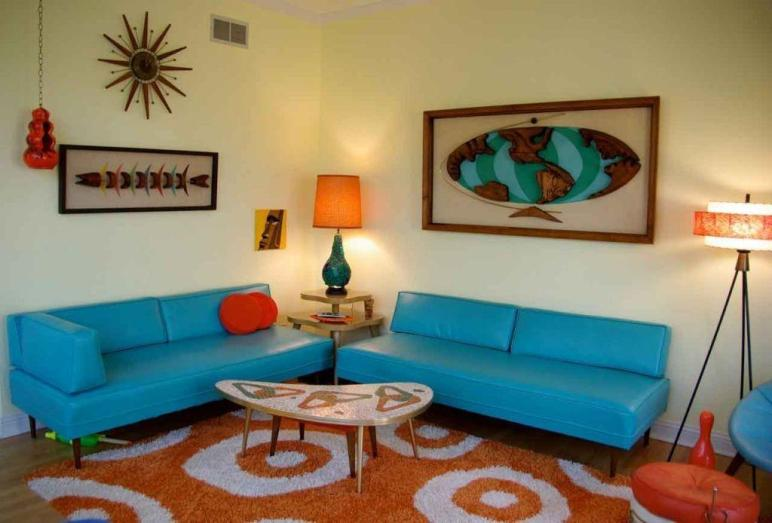 Hot Retro Living Room Ideas