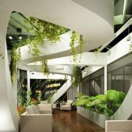 Hotel Indoor Landscape Design