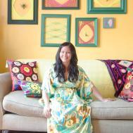 House Tour Chicago Home Bursting Bold Colors