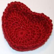 Hugs Kisses Heart Basket Crochet Pattern Petals