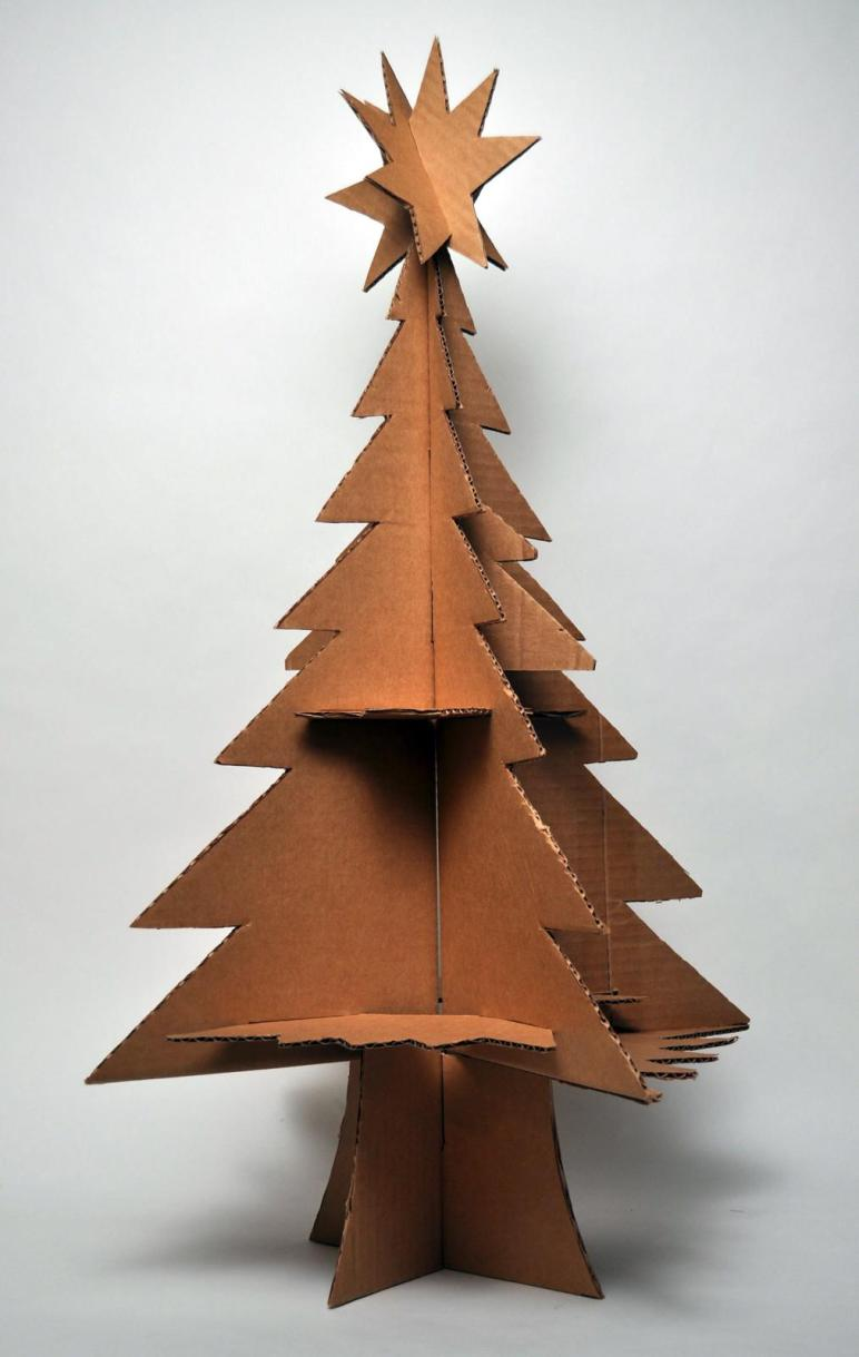 Hutch Studio Cardboard Christmas