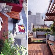 Ideas Backyard Patio Small Apartment Balcony