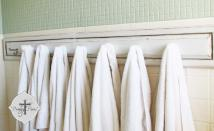 Ideas Bathroom Towel Rack Design