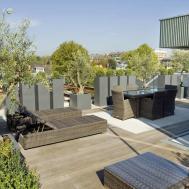 Impressive Modern Rooftop Terrace Design Outdoor