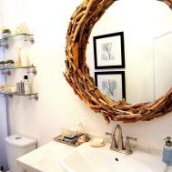 Incredible Egg Carton Flower Mirror Frame Inspiring Ideas